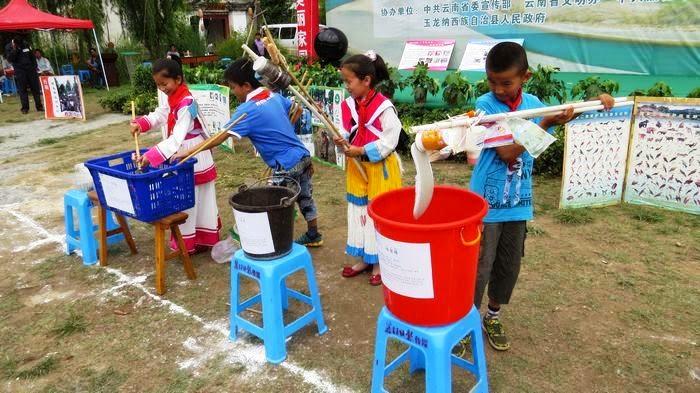 (写真2)リサイクル教室