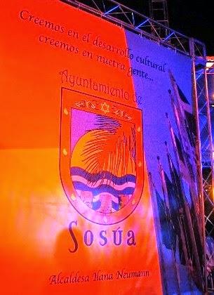 ソスア市の市章。上にユダヤ教のシンボル「ダビデの星」が描かれる
