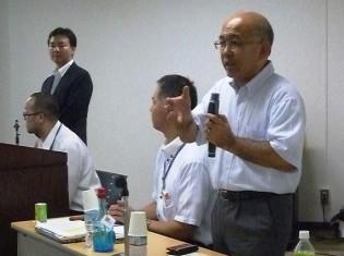0814米山さん、清田局長