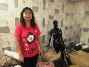 西洋のファッションショップをヤンゴン市内でまもなくオープンする女性