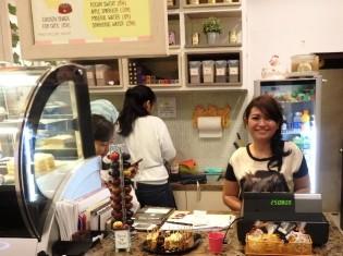キューティーキャッツカフェ、オーナーのリサさん