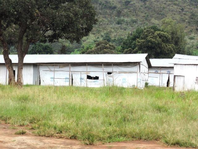 マハマ・ブルンジ難民キャンプ(2015年8月撮影)。8月26日時点で4万3000人のブルンジ難民が暮らす