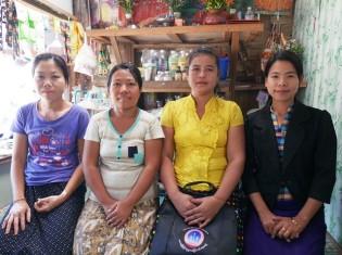 0224服部さん、ソシオライト借り手の女性3人と地域マネージャー(2月18日)