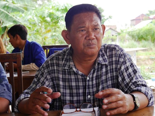 KJCを運営するNGOダナ・アジアのカンボジア人ジェネラルマネージャー、コン・ソファールさん。ジョークが大好きな明るい人柄