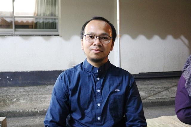 東京工業大学の博士課程に在学中のフィルマン・バグジャ・ジュアンサさん。「マスジット・インドネシア」の建設実行委員長も務めた。「いつもはラマダン明けに帰省するが、今年は帰れそうにない」と忙しそうだ