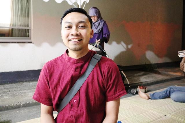 在日インドネシア留学生協会会長のパンドゥ・ウタマ・マンガラさん。29歳のパンドゥさんはGRIPSの博士課程の2年目