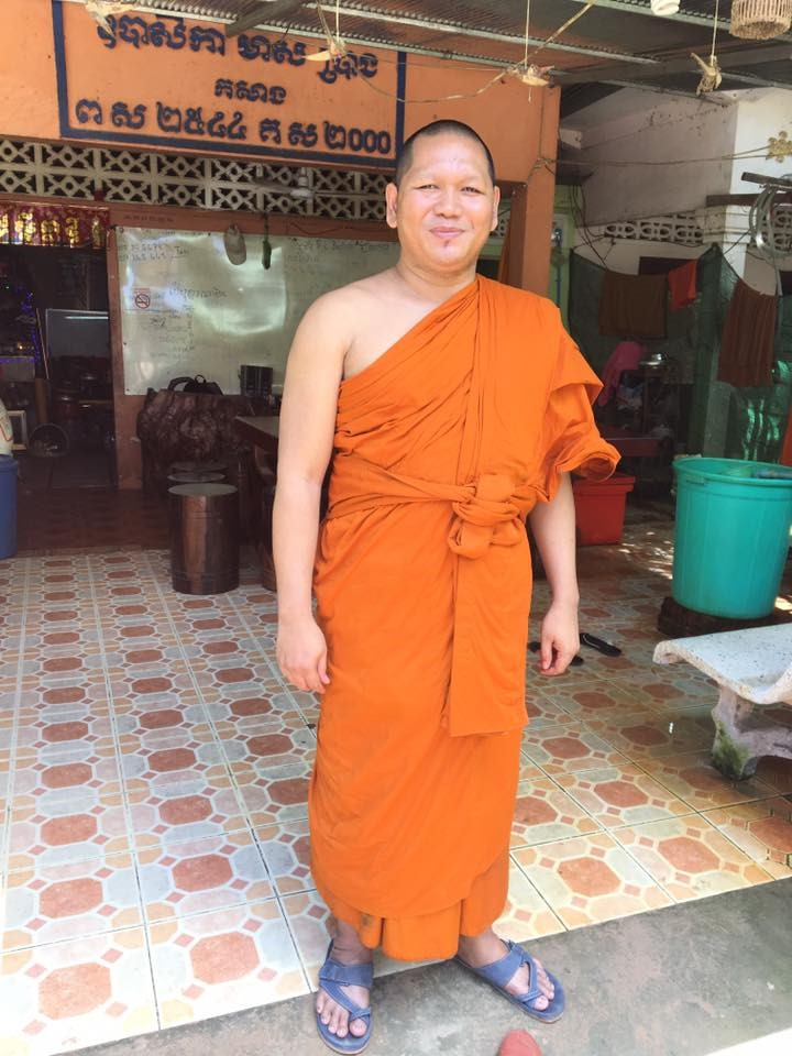 8歳で出家し、ポランカ寺で修行をするダヴィットさん。ポランカ寺では175人の僧侶が生活する