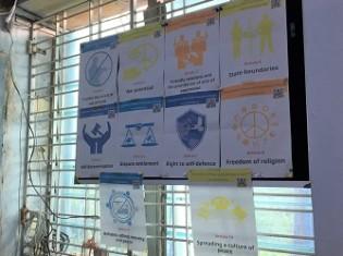 「IYCA」は宗教を通した平和構築活動のほかに、HIVの啓発活動や若者の指導者育成などを行っている
