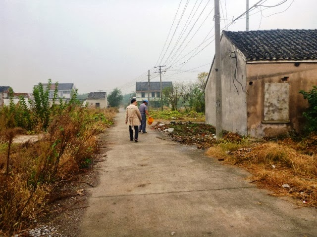 江蘇省の農村