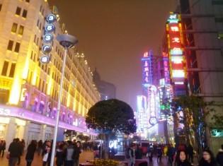 発展が著しい上海市街