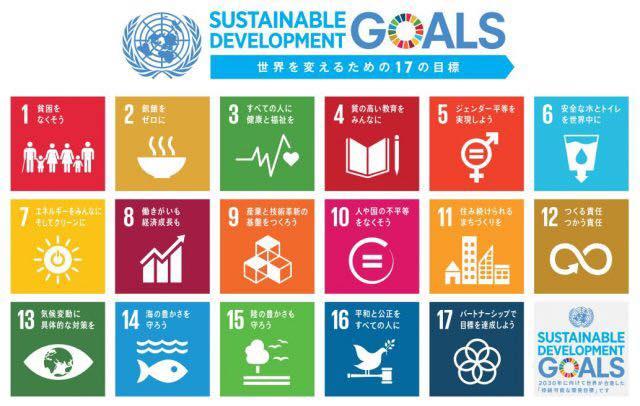 SDGsは、持続可能な社会を実現するための17のグローバル目標と169のターゲットをもつ。途上国だけではなく先進国も対象だ