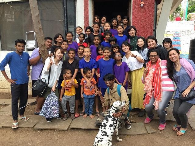 スパーシュが運営する施設で生活する子どもたち(インド・プネー)