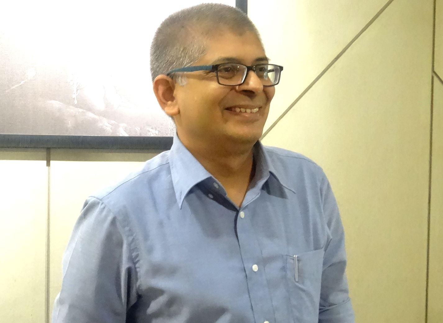 インド・日本ビジネス評議会(IJBC)のシッダールタ・デシュムク副代表。自身が経営するIT企業の顧客は、多くが日本企業。頻繁にインドと日本を行き来する