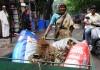 インドのごみ回収者