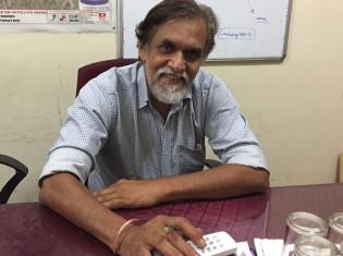 スラム住民の喜ぶ姿を見るのが一番嬉しいと語るシャラッドさん。「私は、大したことはしていない」と謙遜する