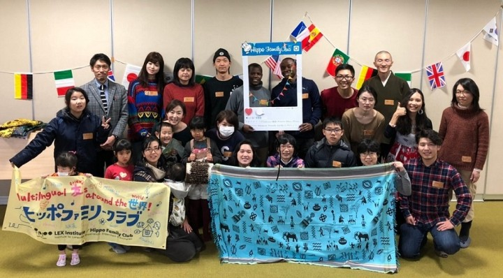 ヒッポファミリークラブと協力して山形で開催した交流会のようす。「こんなイベントをまた開いてほしい」と日本人参加者からも好評だった