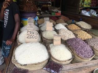 タンザニア・ザンジバルの市場