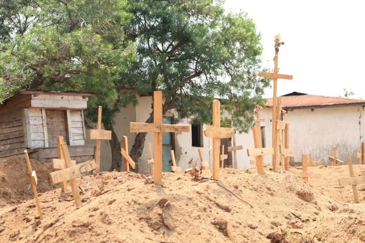 武装勢力の襲撃にあったコンゴ民主共和国東部の村(写真提供:認定NGO法人テラ・ルネッサンス)