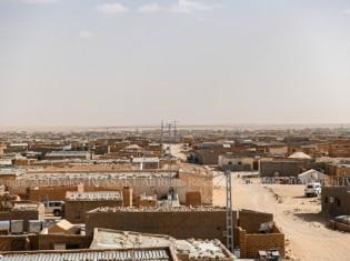 アルジェリアのチンドゥーフにあるサハラーウィ難民キャンプ(2019年撮影:岩崎有一/アジアプレス)