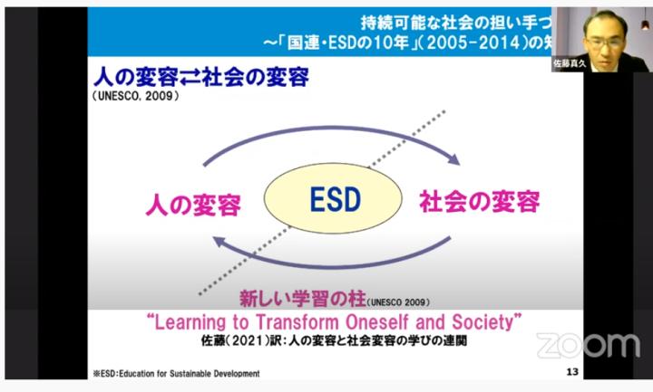 ESD:持続可能な開発のための教育