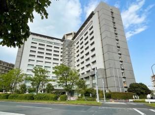 東京都港区にある東京出入国在留管理局。在留資格のない外国人が収容されている