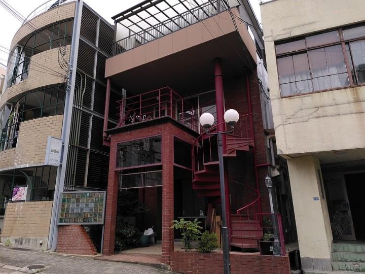 まなびとの新しい施設。JR三宮からも直ぐ近くの神戸市北野エリアにある