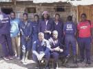 ムター・サフィのメンバー。左から4番目がリーダーのデュマさん
